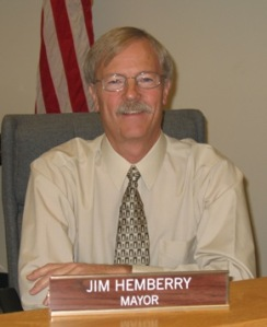 Quincy Mayor Jim Hemberry